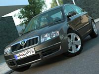3d luxury sedan model