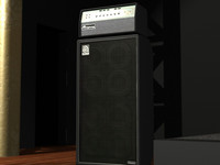 Ampeg SVT with 8x10 cabinet