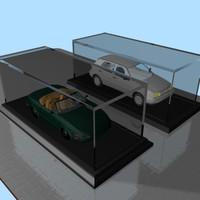 3d plastic cases modeled model