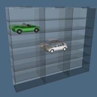 3d model wall case modeled