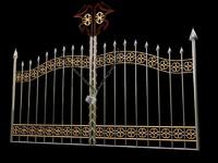 maya metal gate