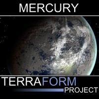 3d mercury terraform model