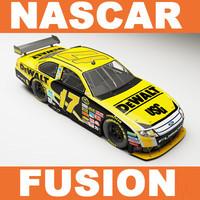 3d nascar fusion - kenseth