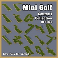 Mini Golf Course 1 Collection
