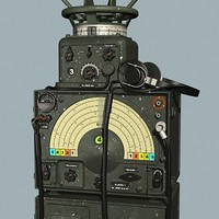 German WWII radio set