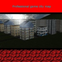 3d professional city