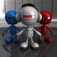 robot robo bot 3d model