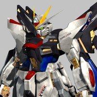 3ds max strike freedom gundam