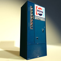 3d model soda machine 03