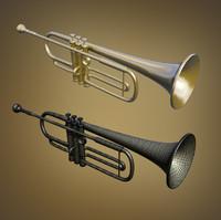 trumpet studio 3d max