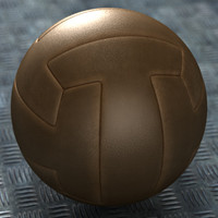 OLD STYLE VINTAGE LEATHER SOCCER BALL