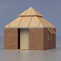3dsmax multi purpose building