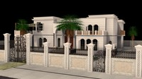 3d model villa dubai