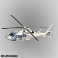 Eurocopter AS365 Dauphin II Generic white