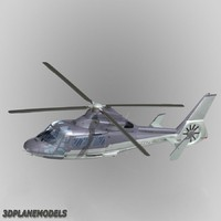 eurocopter dauphin ii private 3d 3ds