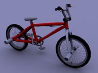 3d model bmx