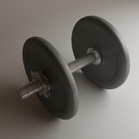 3d dumbbell dumb bell