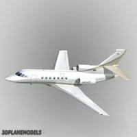 Dassault Falcon 50 Private livery 4