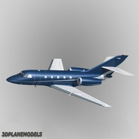 dassault falcon 20 200 3d max