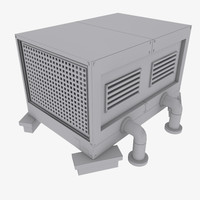 HVAC Rooftop Cooling Unit