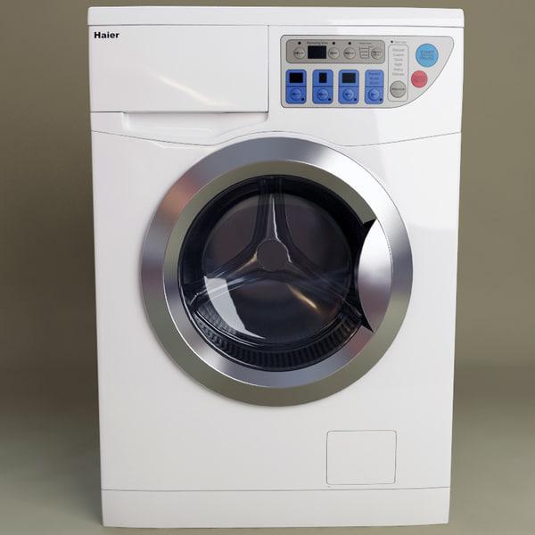 haier washing dryer machine