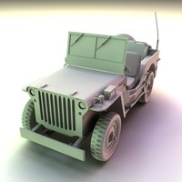 maya willis jeep ww2
