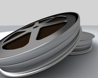 film spool 3d max