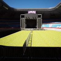 Stadium Concert Stage