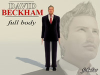 David Beckham Full Body