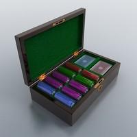 casino case 3d model