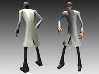 character crazy 3d model