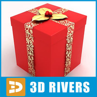 gift wrap 3d 3ds