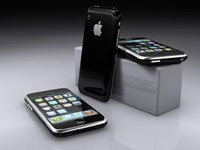 iphone apple 3d max