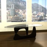 isamu noguchi coffee table 3d max