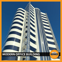 modern office building 06 3ds