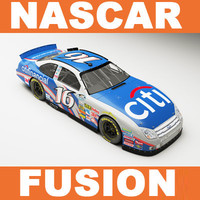 3d model nascar nationwide fusion