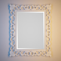 3d classical mirror frame model