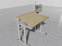 drafting table 3d 3ds
