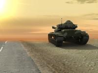 complete tank rig 3d model