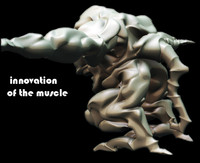 New age muscle monster design   model is