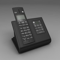 3ds max cordless telephone