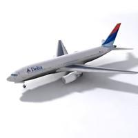 3d model b 767
