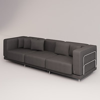 tylosand sofa triple 3d model