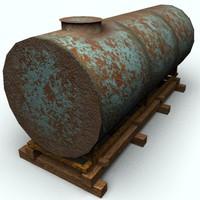 storage tank 002 - textured