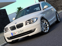 BMW 1-series 3 door (2009)