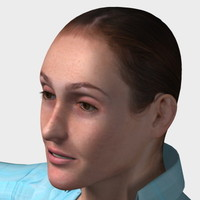 character woman female 3d max