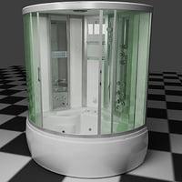 3d shower cubicle model