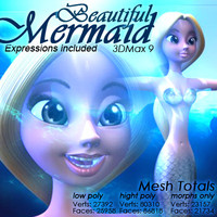 3d mermaid expressions
