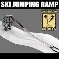 Ski Jumping Ramp