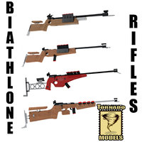 biathlon rifle obj